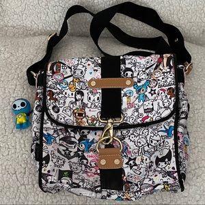 Brand New TOKIDOKI Nylon Crossbody Bag